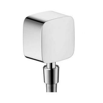 Hansgrohe Fixfit Wall Outlet with Pivot Joint & Non-return Valve - 27414000