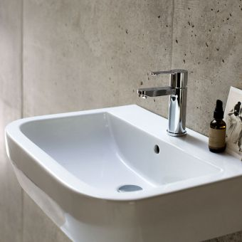 Britton Crystal Basin Mixer Tap