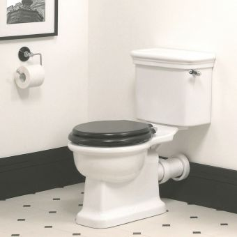 Imperial Etoile Close Coupled Toilet Suite with White Seat