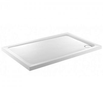 JT Fusion 900x700mm Rectangular Shower Tray with Anti-Slip