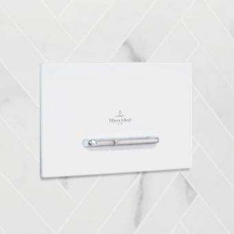 Villeroy and Boch ViConnect E300 Flush Plate
