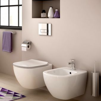 CHK Ideal Standard Tesi Wall Hung Bidet