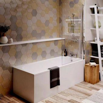 Ideal Standard Tesi Watersaving Single Ended Bath - T000901