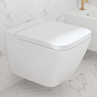 Villeroy and Boch Finion Rimless Wall Hung WC - 4664R0R1