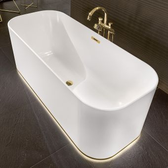 Villeroy and Boch Finion Illuminated Freestanding Bath