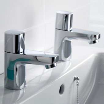 CHK Ideal Standard Tempo Basin Pillar Taps