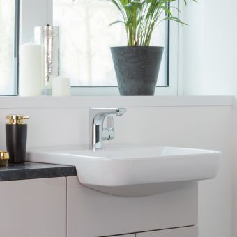 Vitra Sento Semi-recessed Wash Basin