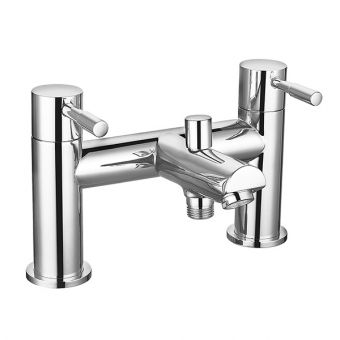 Saneux Pascale Deck Mounted Bath Shower Mixer Tap