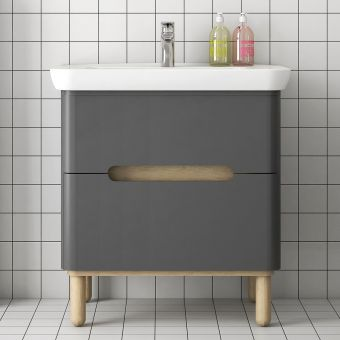 VitrA Sento 2 Drawer Vanity Unit
