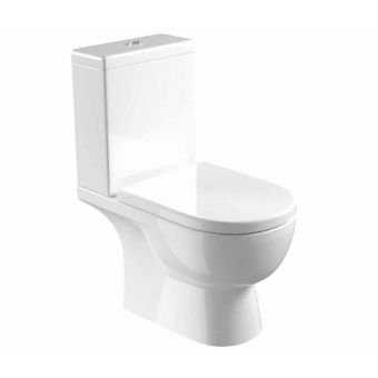 Saneux Austen Open Back Close-Coupled WC