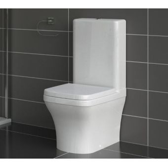 Saneux Indigo Back to Wall Close Coupled WC **LEGACY PRODUCT**