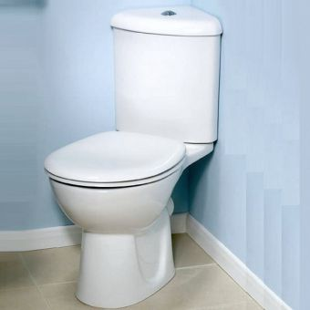 Vitra Layton Corner Close Coupled Toilet