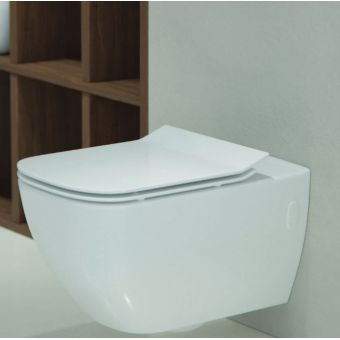 Saneux Indigo_Art Rimless Wall Mounted WC  **Legacy Product**