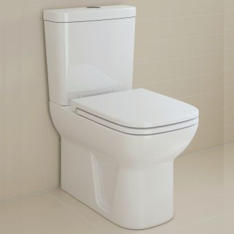 VitrA S20 Close Coupled Closed Back WC - 5512WH