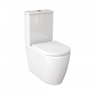 Saneux Uni Back to Wall Close Coupled Rimless WC