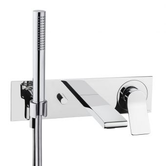 VitrA Memoria Concealed Bath Shower Mixer Tap