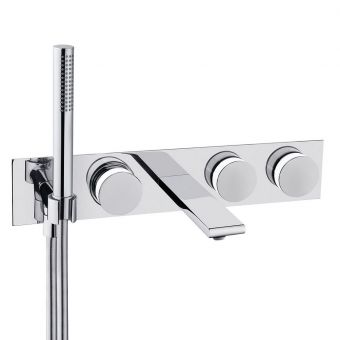 VitrA Memoria 3 Handle Bath Shower Mixer Tap