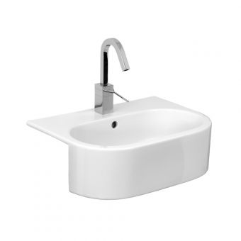 Saneux Uni 540mm Semi-Recessed Washbasin