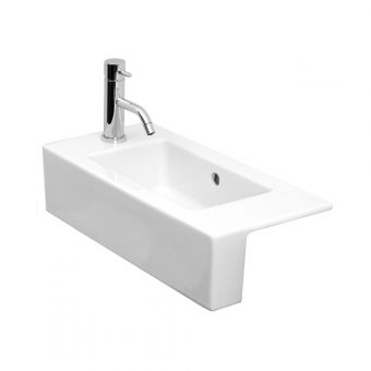Saneux Uni 520mm Semi-Recessed Washbasin