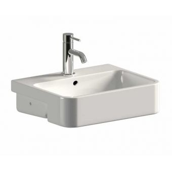 Saneux Uni 500mm Semi-Recessed Washbasin