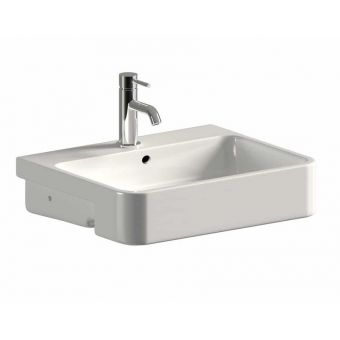 Saneux Uni 560mm Semi-Recessed Washbasin