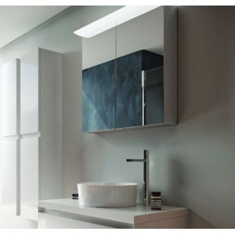 Saneux Glacier Electric Mirror Cabinet