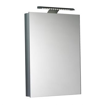 Saneux Ice Wall Mounted Single Door Mirror Cabinet