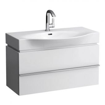 CHK Laufen Palace Vanity Unit with Drawers and Curved Basin