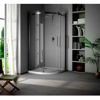Saneux Steel Quadrant Shower Door
