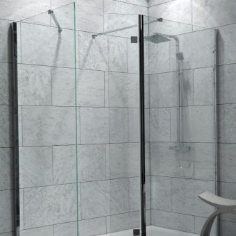 Saneux Walkin Walk-In Shower Enclosure