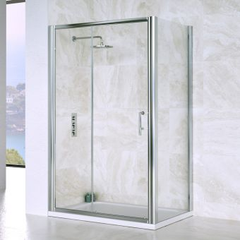 Saneux Wosh Slider Door Shower Enclosure **Legacy Product**