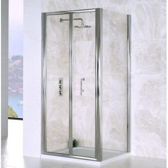 Roman Haven Bi Fold Shower Door Uk Bathrooms