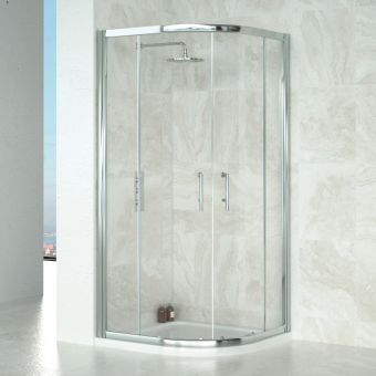 Saneux Wosh Quadrant Shower Enclosure