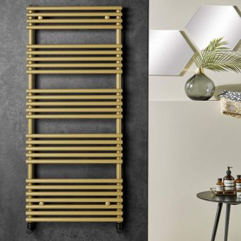 Origins TT Lux Gold Look Designer Towel Radiator