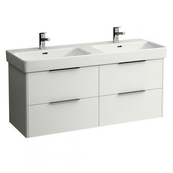Laufen PRO S Double Basin and Base Vanity Unit