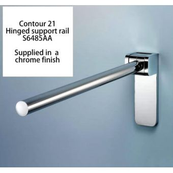 Armitage Shanks Chrome Plated 80cm Support Rail (S6485AA)