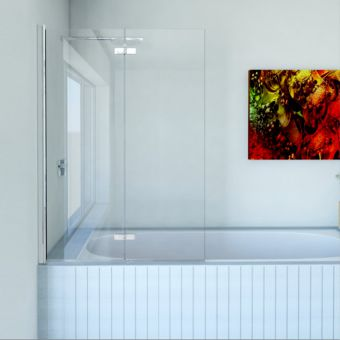 Matki Eleganza Folding Bath Screen - EFB1100