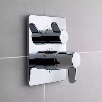 Ideal Standard Concept Freedom Easybox Slim Thermostatic Shower Mixer
