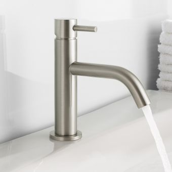 Crosswater MPRO Brushed Steel Basin Tap