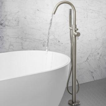 Crosswater MPRO Brushed Steel Bath Shower Mixer Tap