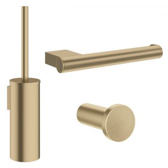 Crosswater MPRO Brushed Brass Bathroom Accessory Pack - PROPACKBRASS