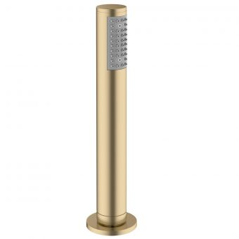 Crosswater MPRO Brushed Brass Deck Shower Handset and Hose - PRO812F