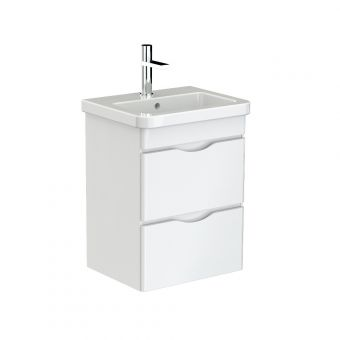 Saneux Indigo Two Drawer Vanity Unit