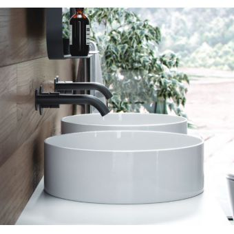Saneux Icon Round Sit On Washbasin
