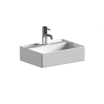 Saneux Icon Wall Mounted Rectangular Washbasin