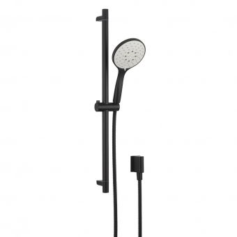 Crosswater MPRO Matt Black Shower Rail Kit