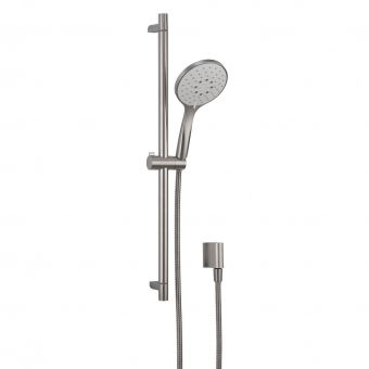 Crosswater MPRO Brushed Steel Shower Rail Kit