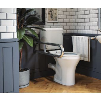 Saneux Care Doc M Close Coupled WC Pack with Concealed Fixings
