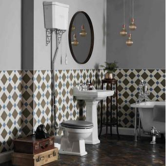 High Level Traditional Toilets Uk Bathrooms