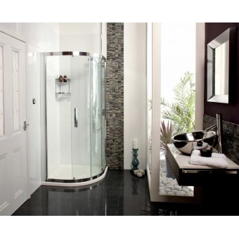Roman Embrace Single Door Quadrant Shower Enclosure